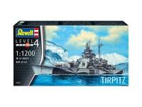 Revell 1/1200 portaerei USS Hornet Modello in kit di Montaggio
