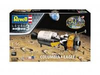 Revell 1/96 Apollo 11 Columbia & Eagle Modello in kit di Montaggio