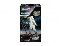 Revell 1/18 Apollo 11 Astronaut on the Moon Modello in kit di Montaggio