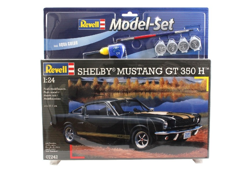 Revell 1 24 Shelby Mustang GT 350 model set con colorei