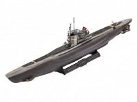 Revell 1/350 sottomarino tedesco Type VII C/41 model set con colori