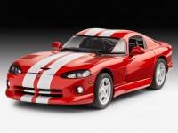 Revell 1/25 Dodge Viper GTS model set con colori