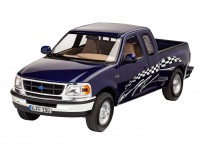 Revell 1/25 Ford F-150 XLT 1997 model set con colori
