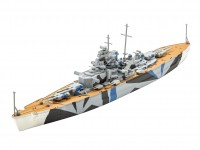Revell 1/1200 Tirpitz model set con colori