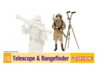 Dragon 1/6 Telescope & Rangefinder modellino in kit
