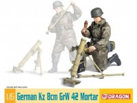 Dragon 1/6 mortaio tedesco Kz 8cm GrW 42 modellino in kit