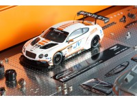 ALMOST REAL 1/43 B.O.M BENTLEY GT3 N.77 TEAM ABSOLUTE GT3 ASIA 2015 CON VETRINA