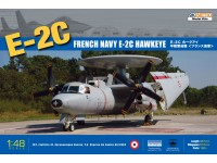 KINETIC 1/48 FRENCH NAVY E-2C HAWKEYE MODELLO IN KIT DI MONTAGGIO