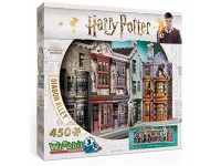 Wrebbit Harry Potter Diagon Alley modello in puzzle 3D
