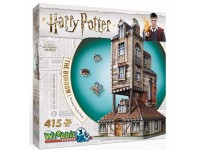 Wrebbit Harry Potter The Burrow Weasley Family Home modello in puzzle 3D