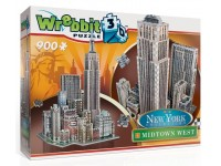 Wrebbit New York Collection Midtown West modello in puzzle 3D