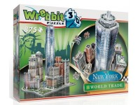 Wrebbit New York Collection World Trade modello in puzzle 3D