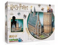 Wrebbit Harry Potter Hogwarts Great Hall modello in puzzle 3D