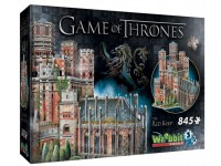WREBBIT GAME OF THRONES - THE RED KEEP MODELLINO IN PUZZLE 3D