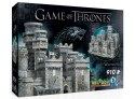 WREBBIT GAME OF THRONES - WINTERFELL MODELLINO IN PUZZLE 3D