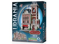 WREBBIT URBANIA - FIRE STATION MODELLINO IN PUZZLE 3D