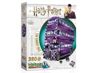 WREBBIT HARRY POTTER - THE KNIGHT BUS MODELLINO IN PUZZLE 3D