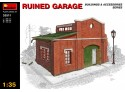 MINIART 1/35 RUINED GARAGE KIT MODELLISMO MILITARE