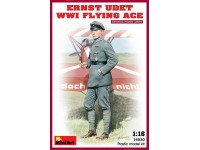 MINIART 1/16 ERNST UDET WW I KIT FIGURINO IN PLASTICA