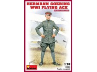 MINIART 1/16 HERMANN GOERING WWI KIT FIGURINO IN PLASTICA