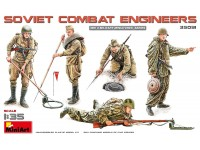 MINIART 1/35 BRITISH ROYAL ENGINEERS KIT FIGURINI IN PLASTICA