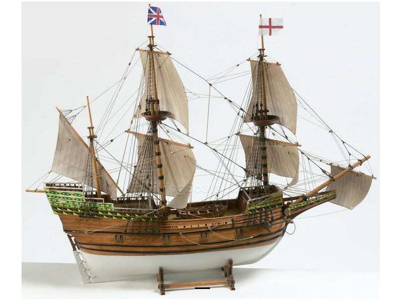 Billing Boats 1/60 Mayflower galeone a tre alberi scatola di montaggio