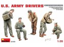 MINIART 1/35 U.S. ARMY DRIVERS KIT FIGURINI IN PLASTICA