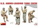 MINIART 1/35 U.S. AMMO-LOADING TANK CREW KIT FIGURINI IN PLASTICA