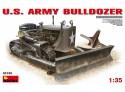 MINIART 1/35 U.S. ARMY BULLDOZER KIT MODELLISMO MILITARE
