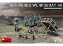 MINIART 1/35 SCHWERES WURFGERAT 40 KIT MODELLISMO MILITARE