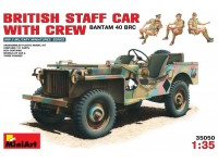 MINIART 1/35 BRITISH STAFF CAR KIT MODELLISMO MILITARE