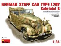 MINIART 1/35 GERMAN CAR TYPE 170V Cabriolet B KIT MODELLISMO MILITARE