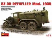 MINIART 1/35 BZ-38 REFUELLER Mod. 1939 KIT MODELLISMO MILITARE