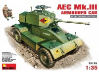 MINIART 1/35 AEC Mk.III ARMOURED CAR KIT MODELLISMO MILITARE
