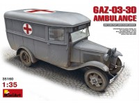 MINIART 1/35 GAZ-03-30 AMBULANCE KIT MODELLISMO MILITARE
