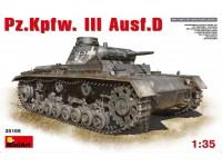 MINIART 1/35 Pz.Kpfw.III Ausf.D KIT MODELLISMO MILITARE