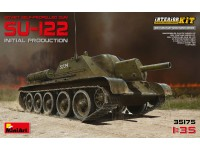 MINIART 1/35 SU-122 INITIAL PRODUCTION KIT MODELLISMO MILITARE