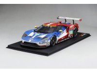 TOPSPEED 1/18 FORD GT N.69 LM GTE PRO 3 POSTO 24H LE MANS 2016 MODELLINO