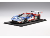 TOPSPEED 1/18 FORD GT N.68 LM GTE PRO VITTORIA 24H LE MANS 2016 MODELLINO