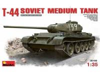 MINIART 1/35 T-44 SOVIET MEDIUM TANK KIT MODELLISMO MILITARE