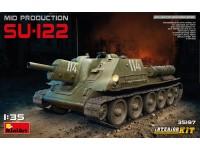 MINIART 1/35 SU-122 MID PRODUCTION KIT MODELLISMO MILITARE