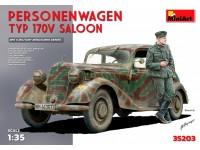 MINIART 1/35 Personenwagen TYP 170V SALOON KIT MODELLISMO MILITARE