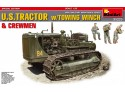 MINIART 1/35 U.S. TRACTOR with Towing Winch SCATOLA DI MONTAGGIO