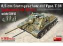 MINIART 1/35 Jagdpanzer SU-85 (R) SCATOLA DI MONTAGGIO