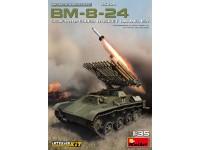 MINIART 1/35 BM-8-24 SCATOLA DI MONTAGGIO