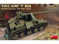 MINIART 1/35 TACAM T-60 SCATOLA DI MONTAGGIO