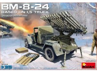 MINIART 1/35 BM-8-24 BASED ON 1,5t TRUCK KIT MODELLISMO MILITARE