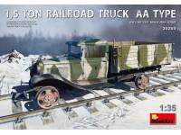 MINIART 1/35 1,5 TON RAILROAD TRUCK AA TYPE SCATOLA DI MONTAGGIO