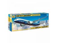 ZVEZDA 1/144 BOEING 787-8 DREAMLINER MODELLO IN KIT DI MONTAGGIO
