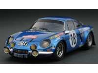 Headliner 1/43 Alpine Renault A110 1800 n.18 vittoria rally Monte Carlo 1973 modellino